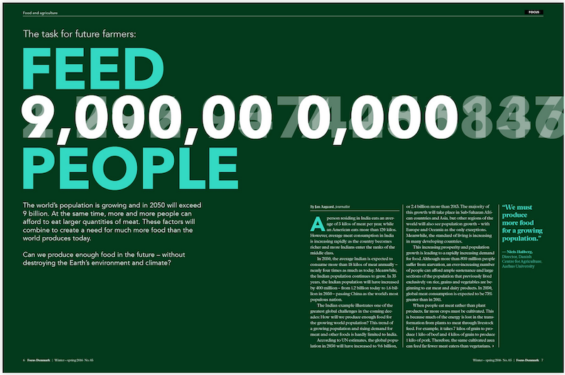 The task for future farmers: Feed 9,000,000,000 people
