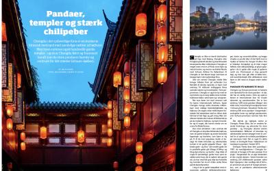 Pandaer, templer og stærk chilipeber